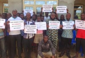 Asari's AntiBringBackOurGirls protest