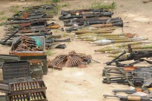 Recovered and Surrendered Arms by insurgents