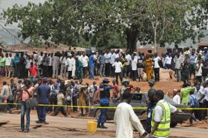 Abuja blasts Onlookers