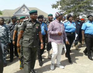 IGP Idris Ibrahim with Samuel Ortom