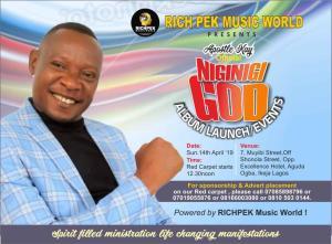 Niginigi God album launch